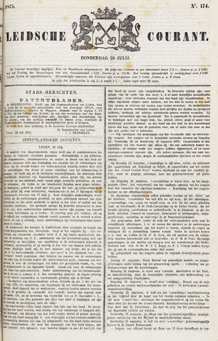Leydse Courant 1875-07-29