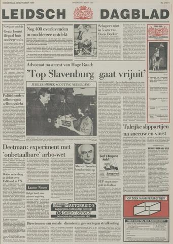 Leidsch Dagblad 1985-11-28