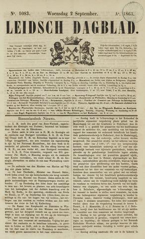 Leidsch Dagblad 1863-09-02