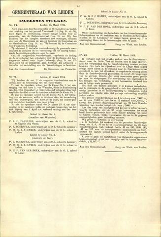 Handelingen van de Raad 1914-03-24