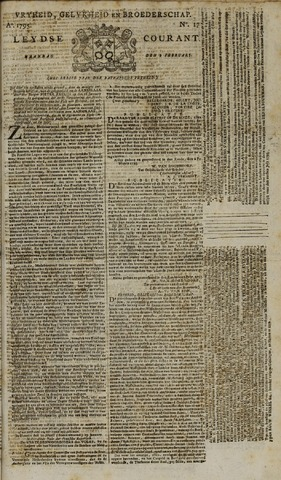 Leydse Courant 1795-02-09