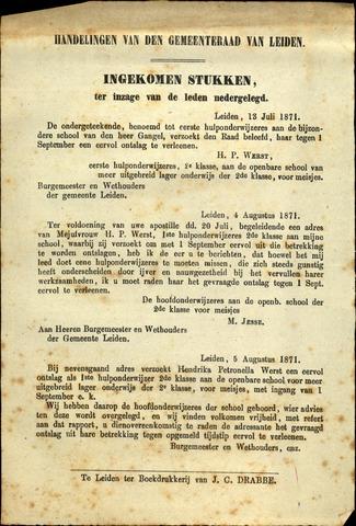 Handelingen van de Raad 1871-07-13