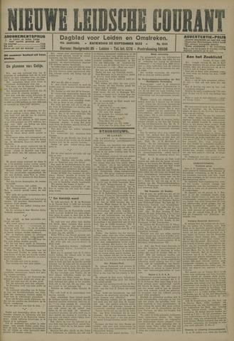 Nieuwe Leidsche Courant 1923-09-22