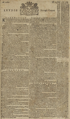 Leydse Courant 1760-02-22