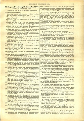 Handelingen van de Raad 1903-11-19