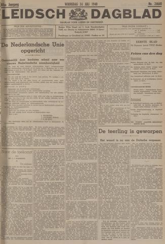 Leidsch Dagblad 1940-07-24
