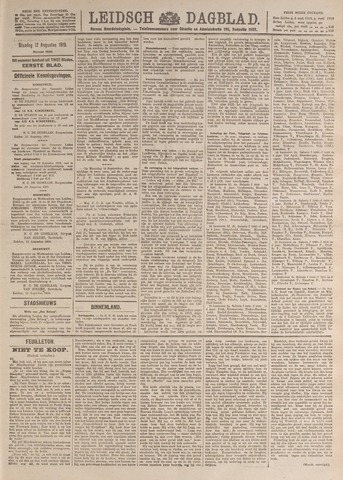 Leidsch Dagblad 1919-08-12
