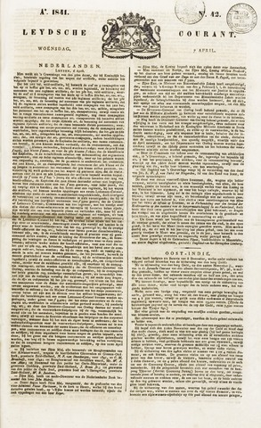 Leydse Courant 1841-04-07