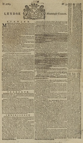 Leydse Courant 1763-03-14