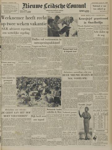 Nieuwe Leidsche Courant 1957-08-07