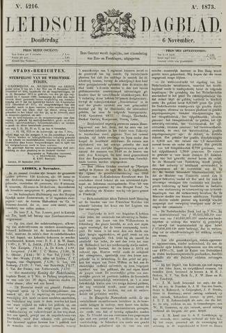 Leidsch Dagblad 1873-11-06