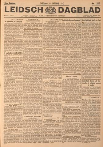 Leidsch Dagblad 1942-09-19