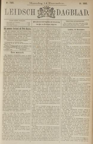 Leidsch Dagblad 1885-12-14