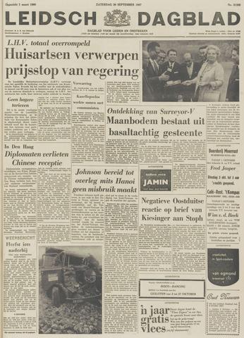 Leidsch Dagblad 1967-09-30