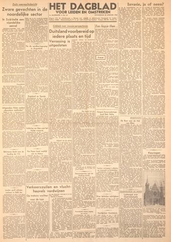 Dagblad voor Leiden en Omstreken 1944-01-20