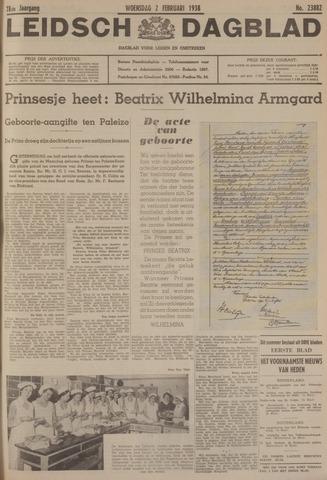 Leidsch Dagblad 1938-02-02