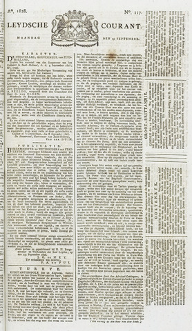 Leydse Courant 1828-09-29