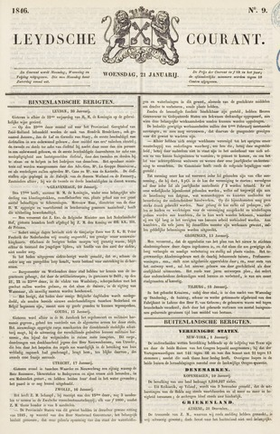 Leydse Courant 1846-01-21