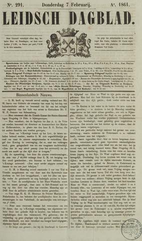 Leidsch Dagblad 1861-02-07