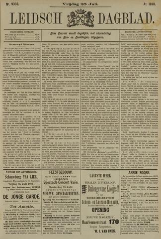 Leidsch Dagblad 1890-07-25