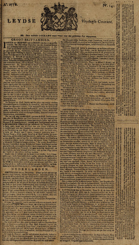 Leydse Courant 1778-11-27