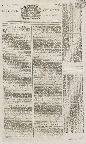 Leydse Courant 1815-07-03