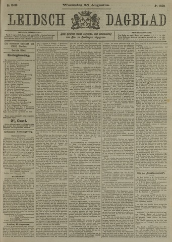 Leidsch Dagblad 1909-08-25