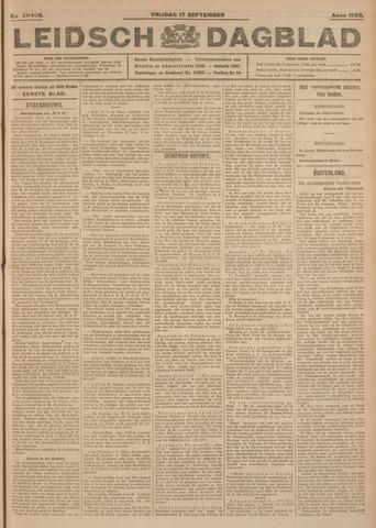 Leidsch Dagblad 1926-09-17
