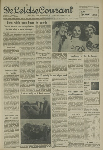 Leidse Courant 1960-02-25