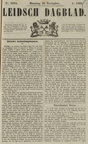 Leidsch Dagblad 1866-11-26