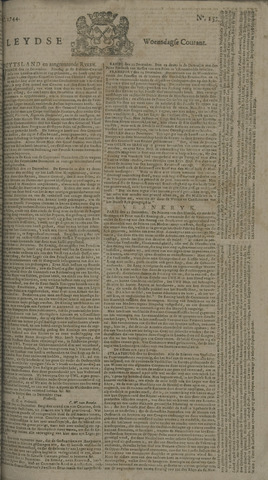Leydse Courant 1744-12-30