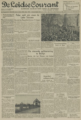 Leidse Courant 1949-03-22