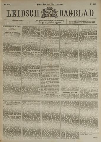 Leidsch Dagblad 1896-11-28
