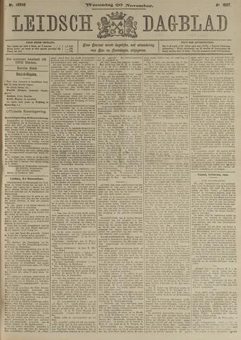 Leidsch Dagblad 1907-11-20