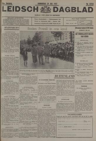 Leidsch Dagblad 1937-07-29