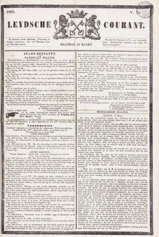 Leydse Courant 1865-03-13