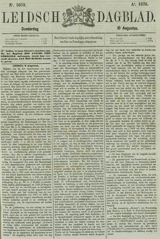 Leidsch Dagblad 1876-08-10