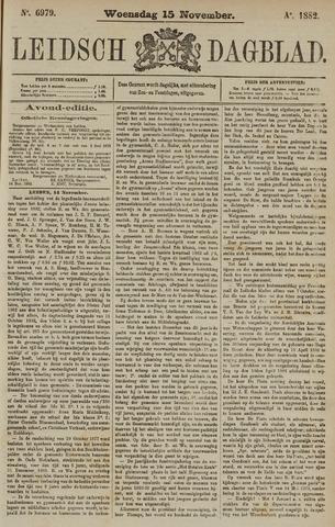 Leidsch Dagblad 1882-11-15