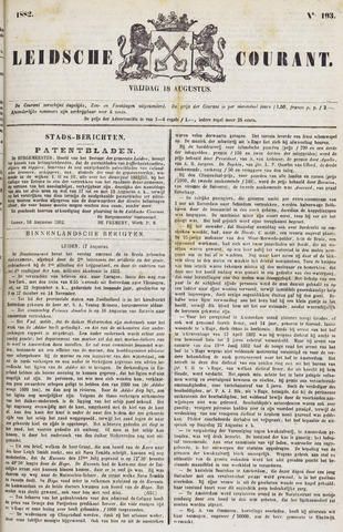 Leydse Courant 1882-08-18