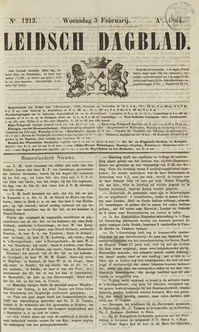 Leidsch Dagblad 1864-02-03