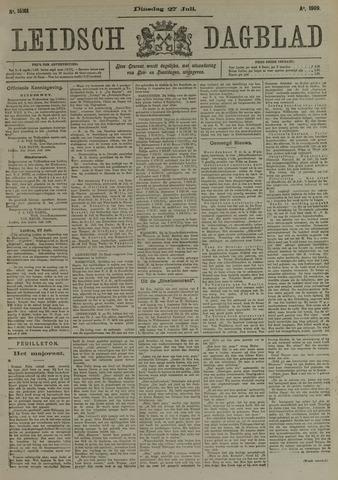 Leidsch Dagblad 1909-07-27