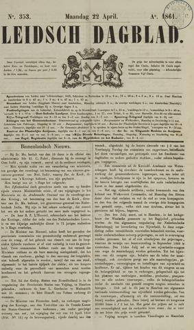 Leidsch Dagblad 1861-04-22