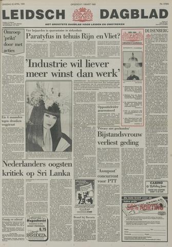 Leidsch Dagblad 1985-04-23