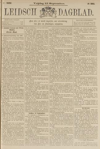 Leidsch Dagblad 1893-09-15