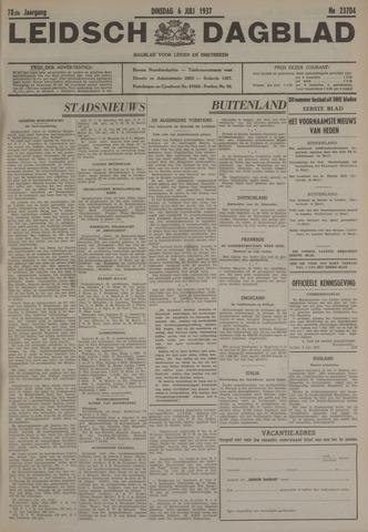 Leidsch Dagblad 1937-07-06