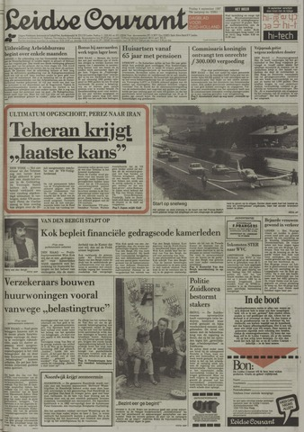 Leidse Courant 1987-09-04