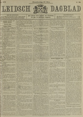 Leidsch Dagblad 1911-05-18