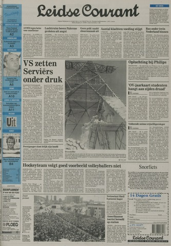 Leidse Courant 1992-08-06