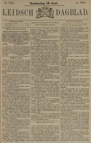 Leidsch Dagblad 1885-06-18