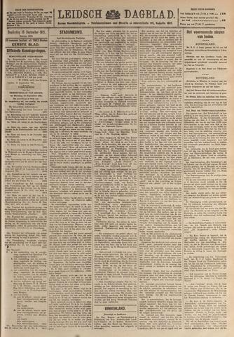 Leidsch Dagblad 1921-09-15